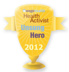 WEGO Health Finalist for Health Activist Unsung Hero